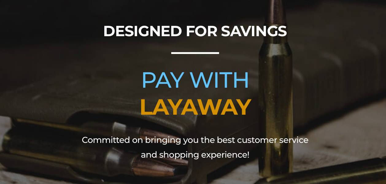 Pay with Layaway Banner